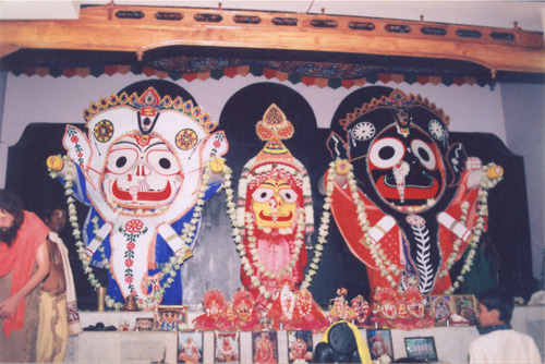 Lord Jagannatha in Hati Vesha (Elephant Dress)