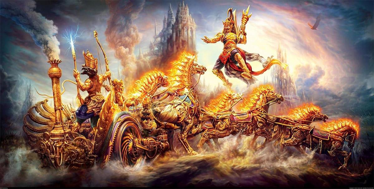 Mahabharata: The Great War and World History