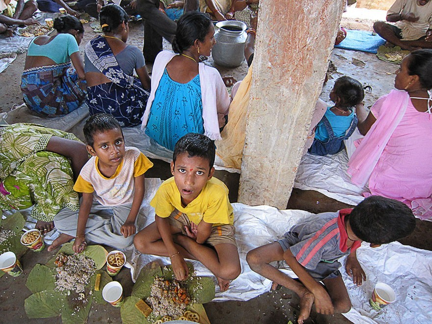 Five Years of Food Distribution in Andhra Pradesh by the Bhaktivedanta Ashram