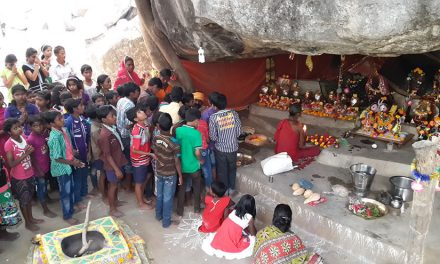 Celebration of Makara Sankranti Festival at Dayalu Baba's Ashram