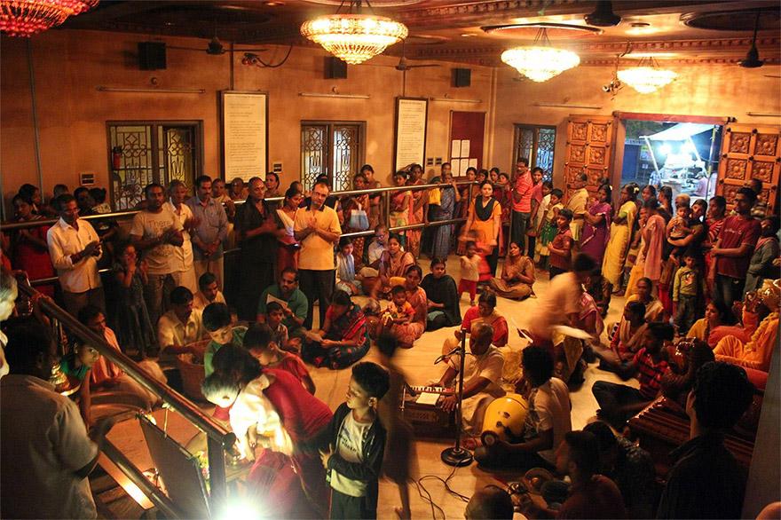 Deepotsava at Bhaktivedanta Ashram in Chennai