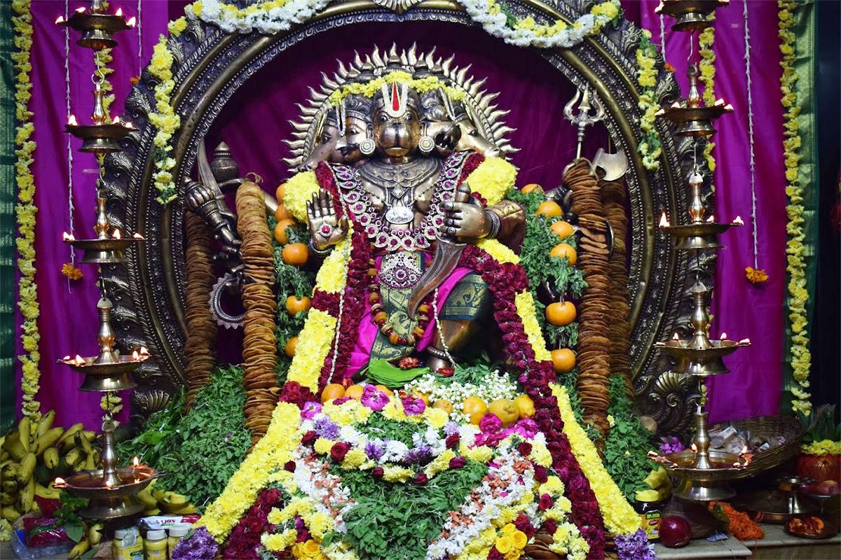 Hanuman Jayanti Celebrations at Bhaktivedanta Ashram in Chennai (2019)