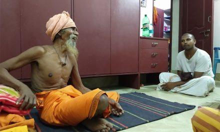 98 Year Old Sadhu Brahma Chaitanya Das Visits Chennai Ashram