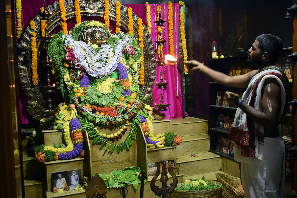 Hanuman Jayanti Celebrations at Our Ashram in Chennai (December 25th, 2019)