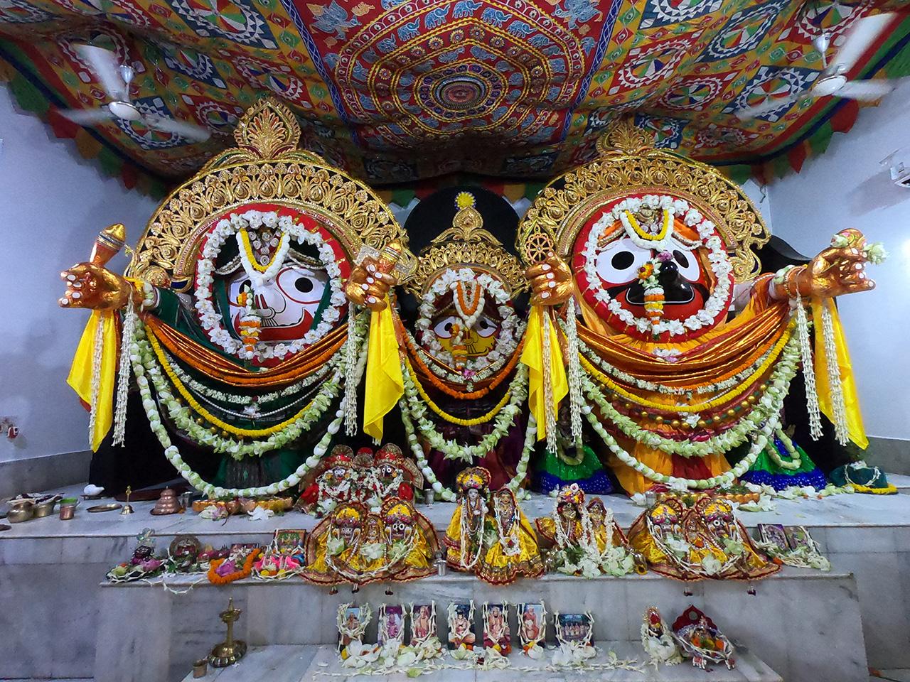 How Daru Brahma Jagannatha Came to Our Ashram for Conducting Ratha Yatra