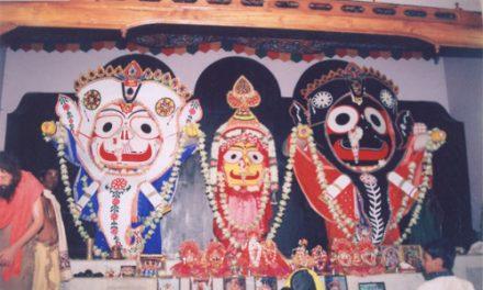 Lord Jagannatha in Hati Vesha (Elephant Dress)