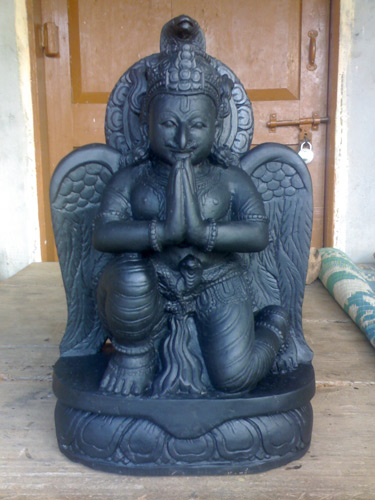 Pictures of Narasimha, Vamana, Varaha and Garuda Deities