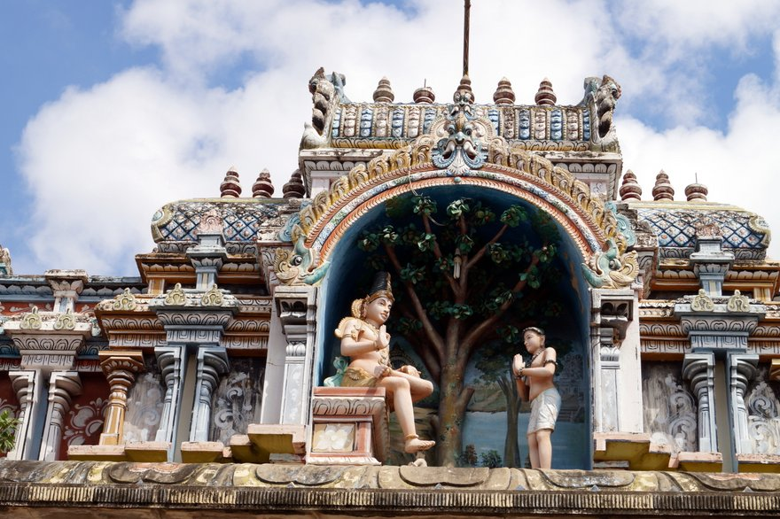 Avudaiyar Shiva Temple and the Shaivite Saint Manikkavasakar